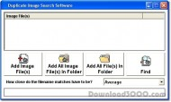 Duplicate Image Search Software screenshot